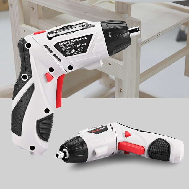 4.8V Electric Screwdriver RechargeableCordless Screwdriver Parafusadeira Furadeira Electric Drill Power Tools