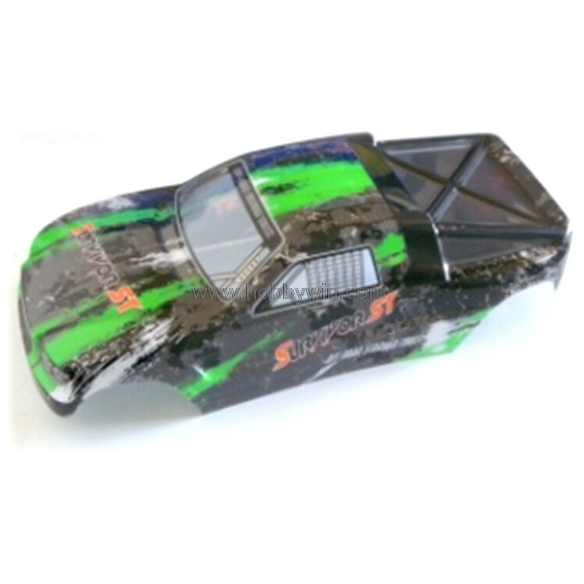 HBX Part 12685 Truggy Body -Green For 1/12th RC Truggy Truck 12811B, 12812, 12813 Original Parts