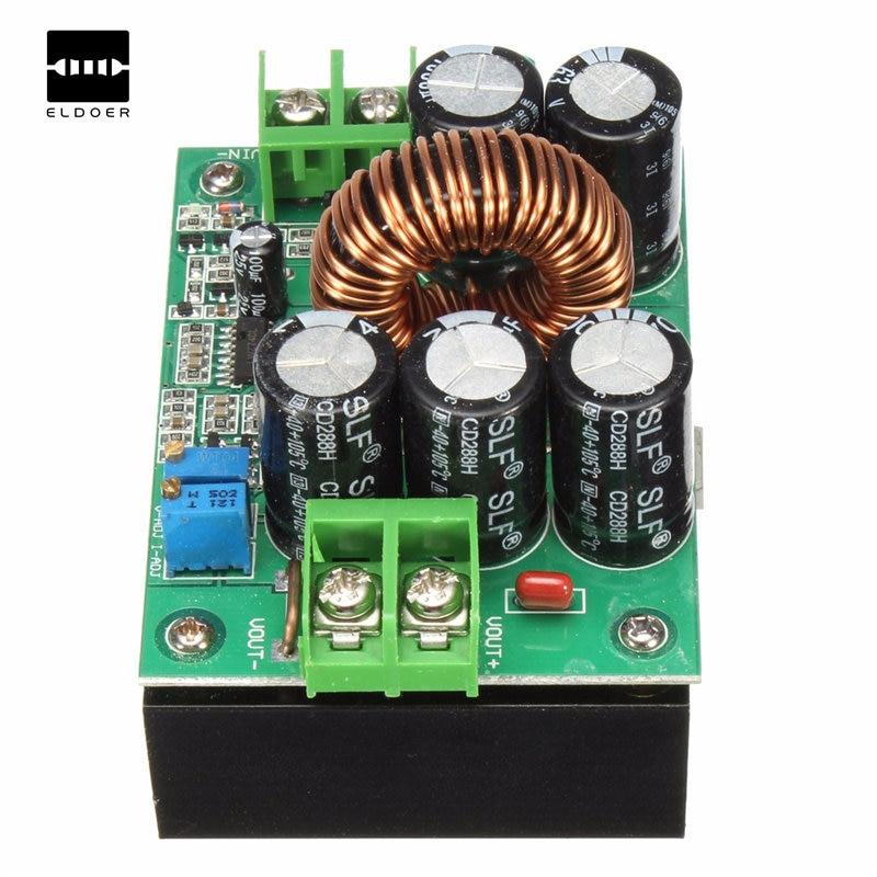 5PCS DC-DC Auto Boost Buck step Up down Converter Module Solar Voltage LM2577 S8