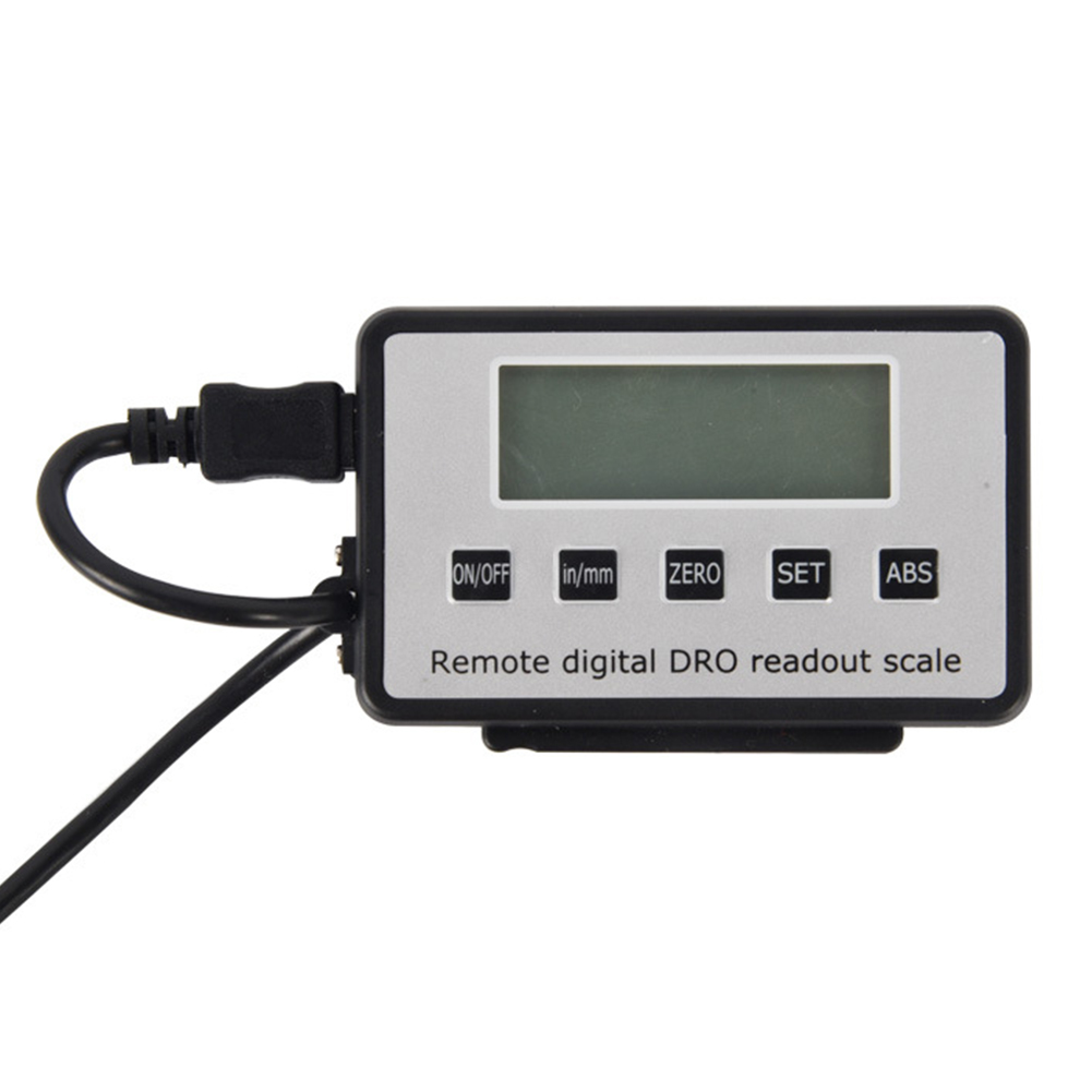 0-150/300mm Digital Readout Ruler Instruments Portable Measuring LCD Display For Milling Lathe Scale Linear Tool Led Remote