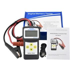 Image 4 - Lancol Micro200 Digital Auto Automotive Batterie Werkzeuge Diagnose Werkzeuge Auto Fabrik CCA100 2000 Batterie Tester Auto Tester Werkzeuge