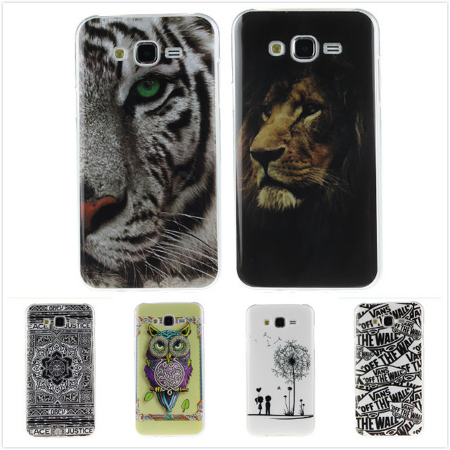 Cartoon High Quality Glossy Soft TPU Case Silicon Protector Back Cover Owl Phone Case for Samsung Galaxy J5 J500H J500F J500