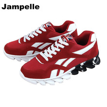 Jampelle New Fires Male Brand Running Shoes Comfortable Walking Shoes Sneakers Men Sports Light Shoes Breathable Athletic Shoes