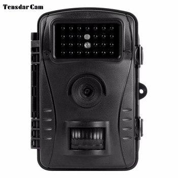 Tensdarcam Trail Camera 12MP Photo Trap 940nm Night Vision 1080P Video Scouting Wildlife Hunting Cameras