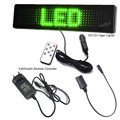 Multi-função de lojas de carro verde promocional publicidade scrolling LED sinal programável DIY controle remoto LEVOU placa de exposição