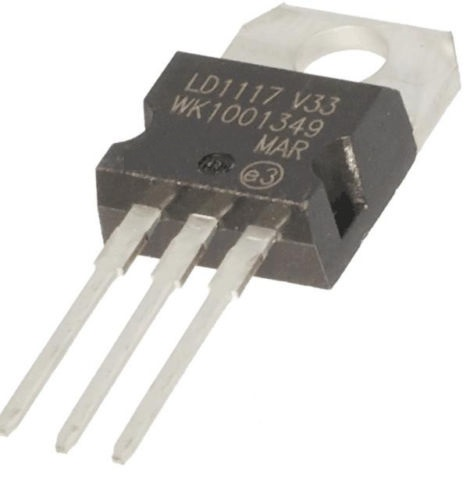 2pcs LD1117V33 Linear Voltage Regulator 3.3V 800mA TO-220 NEW