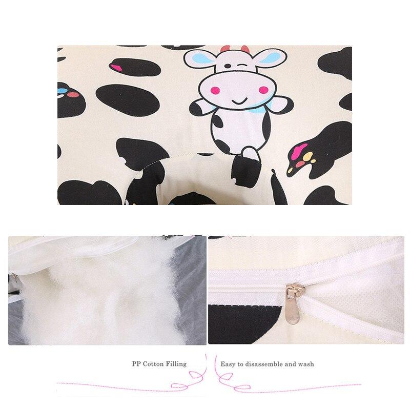 Красочные удобные подушки для беременных, большая u-образная Подушка для беременных, поддержка талии, мультяшная кровать, подушка для тела для беременных женщин