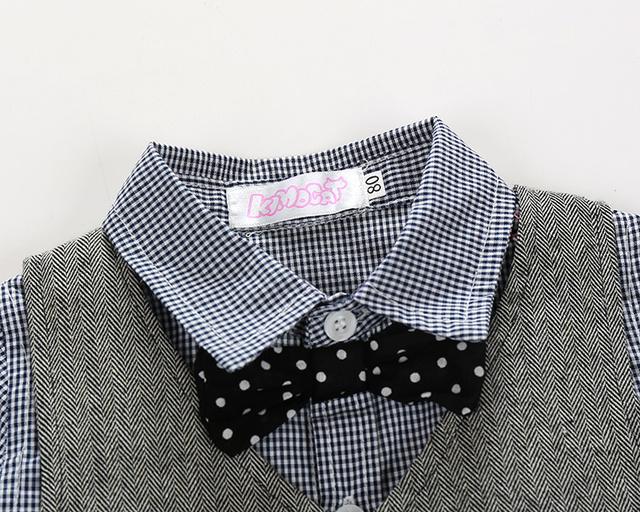 Baby Boy's Wedding Cotton Clothing Set