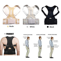 Aptoco Magnetic Therapy Posture Corrector Brace Shoulder Back Support Belt For Men Women Braces Supports Belt