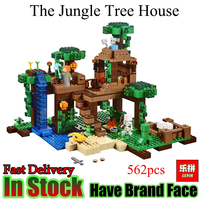 LELE BELA My World Minecraft 589PCS The Nether Fortress Building Blocks DIY Assemble Figure Enlighten Bricks