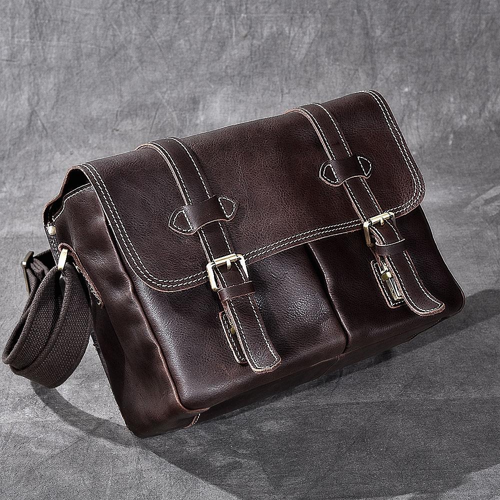 Genuine Leather SLR Camera Bag National Geographic Photography Camera Bag Movable Briefcase Laptop Tote Messenger Shoulder Bag smeg s890amro9