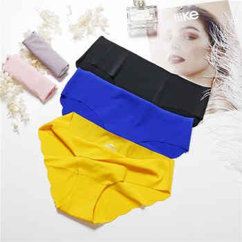 Low-Rise Seamless Panties 3 Pieces Pack Underwear 6 Colors 5
