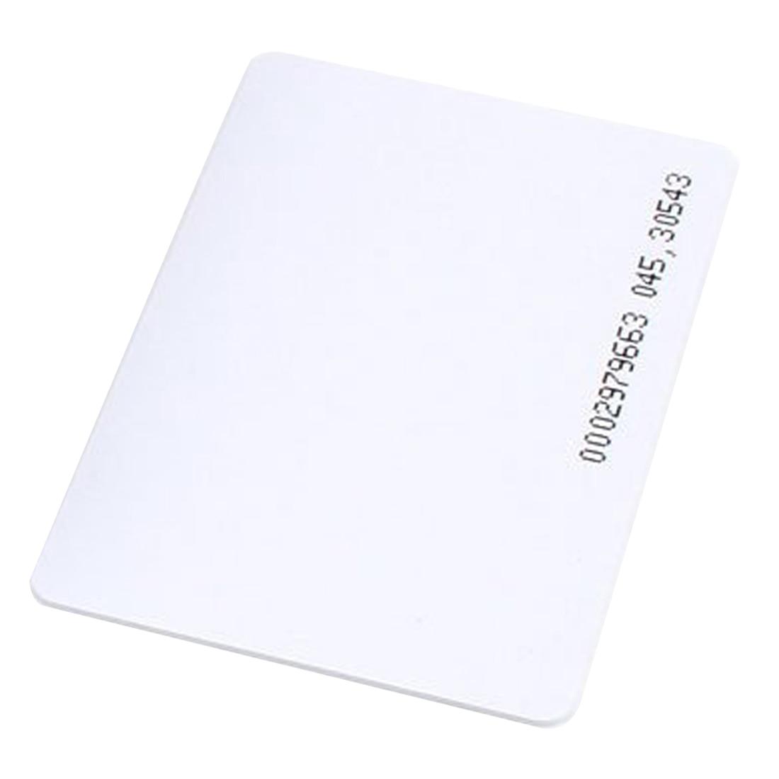 2 Packs 50 pieces Intelligent Proximity EM4100 125kHz RFID Proximity Card Entry Empty ID Access turck proximity switch bi2 g12sk an6x
