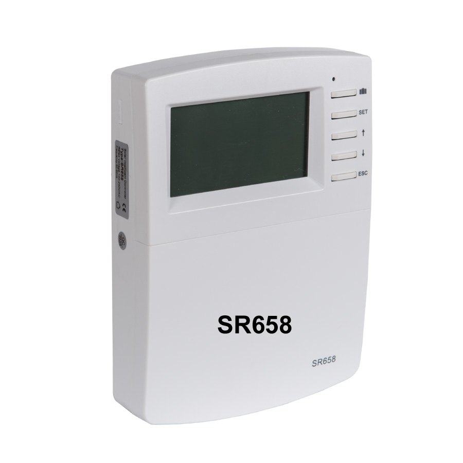 цены SR658 Water Heater Controller Solar Thermal System Control/ Collector and Tank Controller