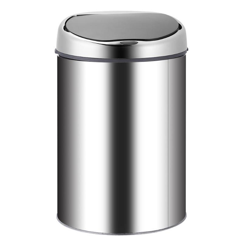 3 8 L automatyczne kosz na śmieci ładowania USB ze stali nierdzewnej automatyczne inteligentny kosz na śmieci z czujnikiem na śmieci kosz na śmieci kuchenny kubeł na śmieci w Kosze na śmieci od Dom i ogród na  Grupa 3