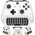 2.4G Mini Gaming Keyboard Wireless Chat Message KeyPad with Audio/Headset Jack for Xbox One X&Slim Game Controller Gamepad