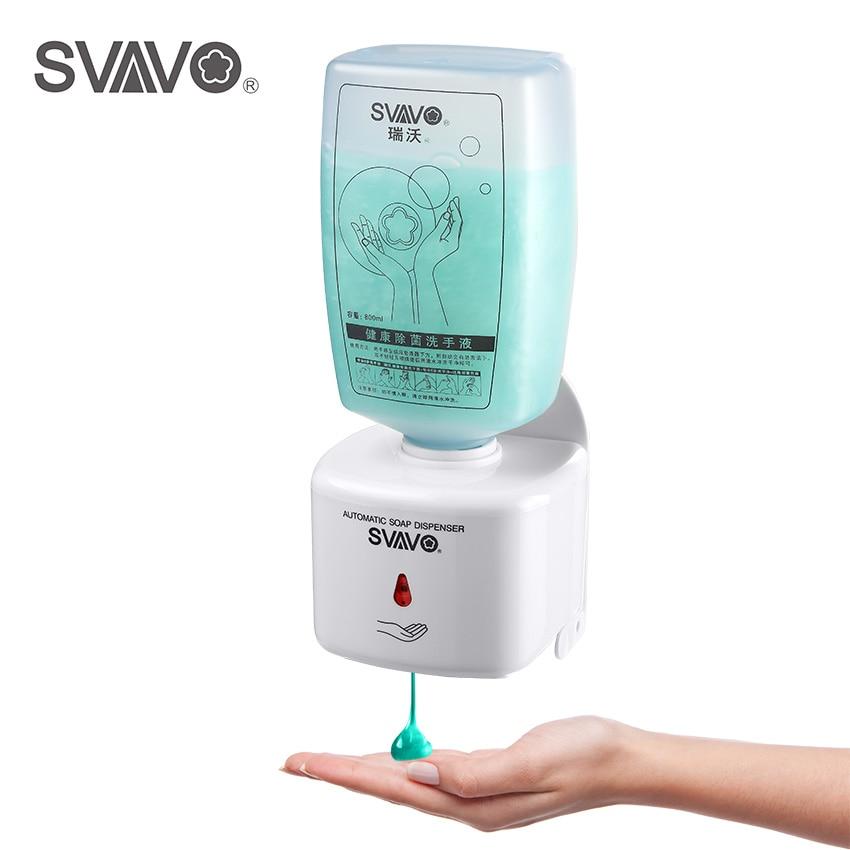 Touchless Automatic Soap Dispenser ABS Plastic Smart Sensor Infrared Handfree Sanitizer Soap Dispenser For Bathroom цены