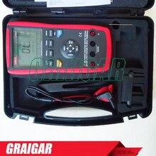 Wholesale prices Portable Handheld LCR Meter 10KHz Inductance Capacitance Resistance L C R DCR Q D Theta ESR Tester UNI-T UT611