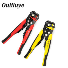 цена на Multifunctional Wire Cable Stripper Cutter Crimper Multitool Automatic Crimping Stripping Cutting Plier Tools Multi Hand Tool