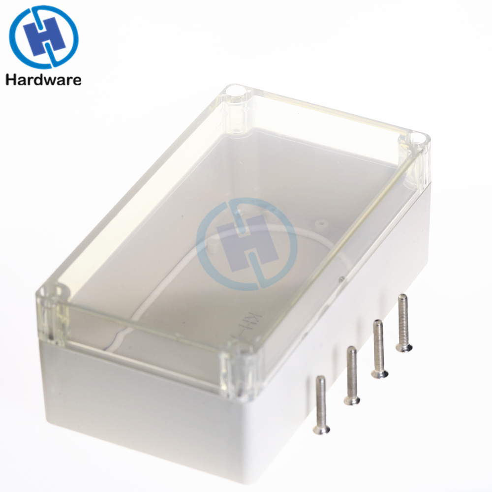 1pc Waterproof Enclosure Case Clear Cover Plastic DIY Electronic Project Instrument Box 158mmx90mmx60mm