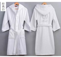 Высокое качество для мужчин's зимний банный халат мужской длинный толстый теплый махровый полотенца халат пара дома с капюшоном Халаты