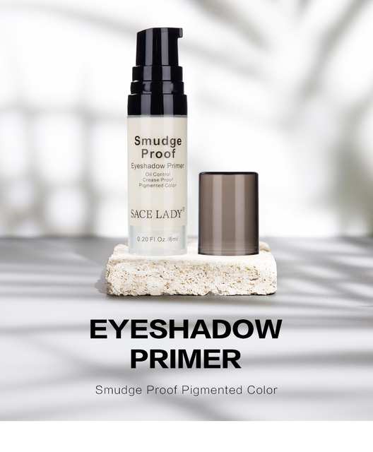 Make Up Oil Control Brighten Long Lasting Cosmetic Eyeshadow Primer Makeup Eye Base Cream Liquid Eye Shadow Primer 1