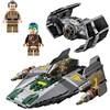 LEPIN 05030 Star Series War 722Pcs Vader Set Tie Advanced VS A Toys Wing Star Fighter