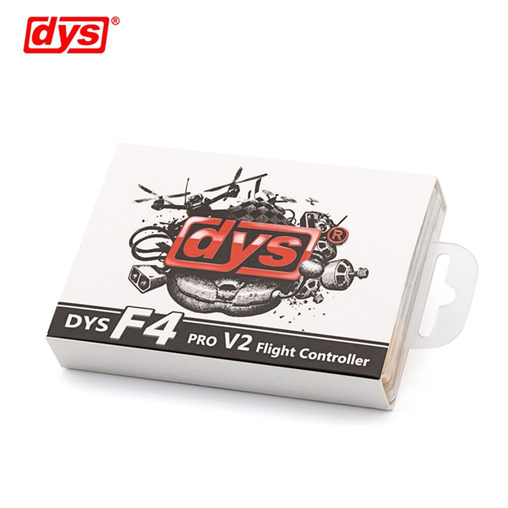 Contrôle de vol DYS F4 PRO V2 Betaflight avec 5 V/3A 9 V/1,2a BEC intégré circuit de protection intégré connexion de câble plat OSD - 5