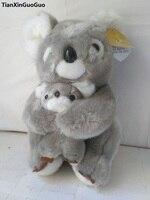 large 28cm cartoon gray koala plush toy soft doll Christmas gift w2866