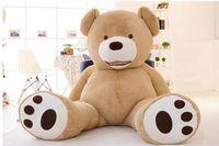 Огромный прекрасная игрушка плюшевый мишка Новый Ceative Большой плюшевый медведь игрушка в подарок около 160 см 0139
