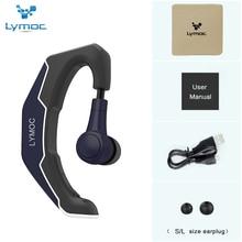 LYMOC Ear Hook Wireless Headsets Bluetooth Earphones Driving Ride Working Sport Earbud Handsfree Headphone Universal for iPhone