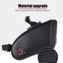 WHEEL UP Reflective Bicycle Saddle Bike Rear Bag Waterproof MTB Mountain/Road Shockproof cycling Seatpost Package tail
