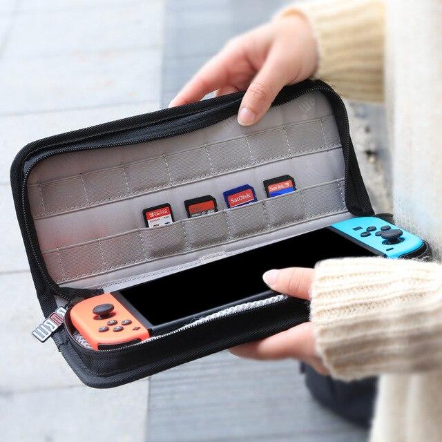 BUBM видео игры мешок для НС коммутатор видео плеер Чехол Водонепроницаемый цифровой защитить сумку для хранения видео игровой консоли для коммутатора