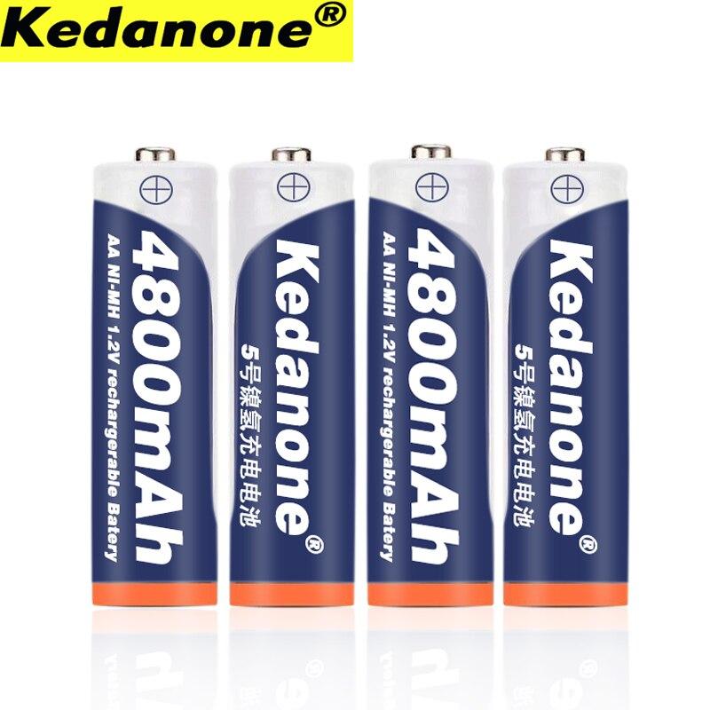 2019 1.2V 4800mAh Ni-MH AA Pre-charging Battery Remote Control Toy Battery Ni-MH Charging Battery