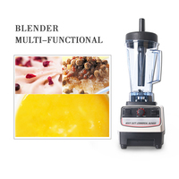 ITOP Mixer Blender Heavy Duty Commercial Juicer Fruit And Vegetable Mixer Grinder Electrical Food Processor US/UK/EU Plug