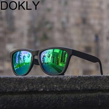 c49d96901a Gafas De sol polarizadas De moda De marca Dokly Gafas De sol Retro para  mujer Gafas De sol clásicas De Grau femeninas Gafas De moda