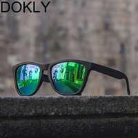 Marca Dokly, Gafas De sol polarizadas a la moda, Gafas Retro para mujer, Gafas De sol Vintage, De Grau Femininos Gafas De sol, Gafas De moda
