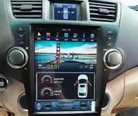12,1 ''вертикальный Тесла стиль Android 7,1 6,0 автомобиля DVD gps для Toyota Highlander 2008 2009 2010 2011 2012 2013 2014 авто руководство AC