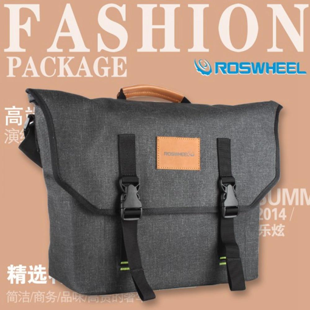 2 Colors Multi Functional Outdoor Sport Bike Bicycle Pannier Cycling Roswheel Tas Sepeda Waterproof Messenger Bag Convenient Crossbody Bags In Panniers From