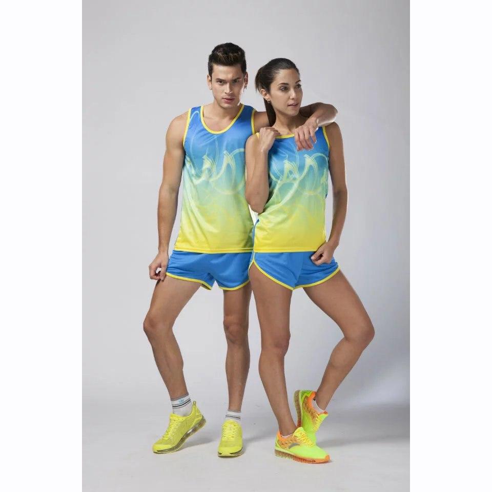 Отслеживать и поле костюмы Профессиональный марафона обучение Униформа студент Бег комплекты одежды jjs209 509