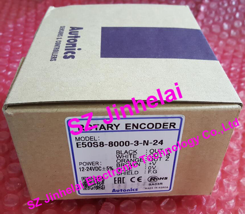E50S8-8000-3-N-24 New and original AUTONICS ENCODER 12-24VDC e50s8 8000 3 v 24 e50s8 8000 3 t 24 e50s8 8000 6 l 5 new and original autonics encoder 12 24vdc