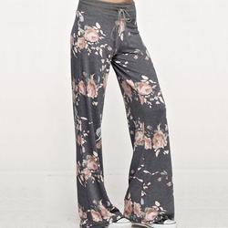 2017 new women pant soft pants casual femal floral loose drawstring casual flare pants sweatpants women.jpg 250x250