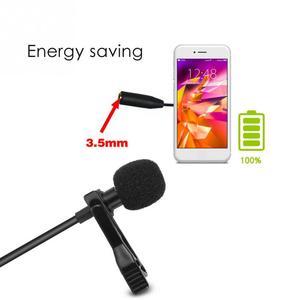 Image 3 - Micrófono portátil de solapa con Clip profesional, manos libres, Mini condensador con cable para iPhone, Samsung, Android y Windows, 3,5mm