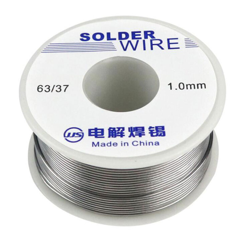 1PCS 50g Welding Iron Soldering Sn25Pb75 0.8 1.0mm Tin Lead Flux Solder Wire