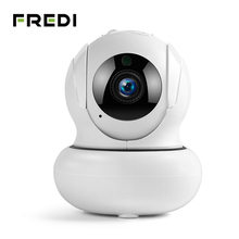 FREDI 4X Zoomable IP Camera 1080P Auto Tracking Surveillance Cameras Wireless Network WiFi PTZ CCTV Home Security