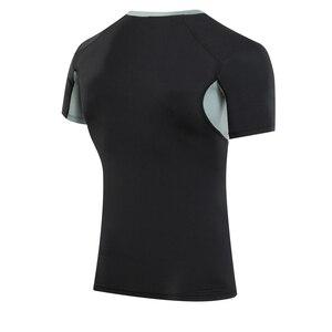 Image 5 - Yuerlian 2019 liberação ginásio tshirt para homens logotipo personalizado calças de fitness masculino rashgard esporte camisa homem compressão ginásio camisa