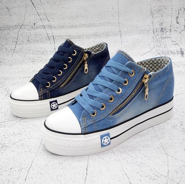 Denim Casual Shoes  Women's 2