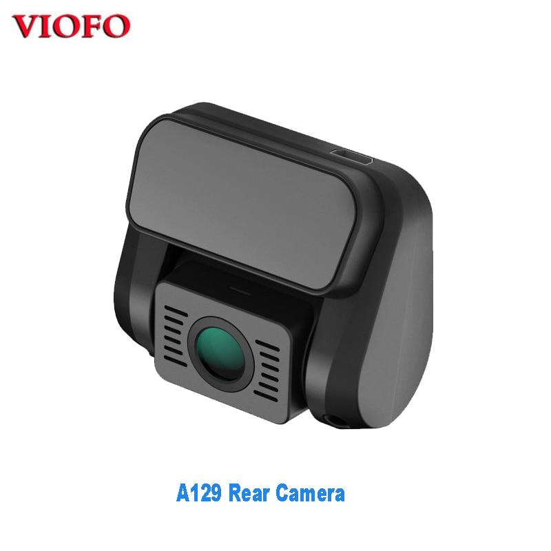 Оригинал «VIOFO» A129 сзади Камера для A129 Duo Full HD 1080P Dash Камера DashCam с стерлингового серебра для Sony Starvis Датчик изображения
