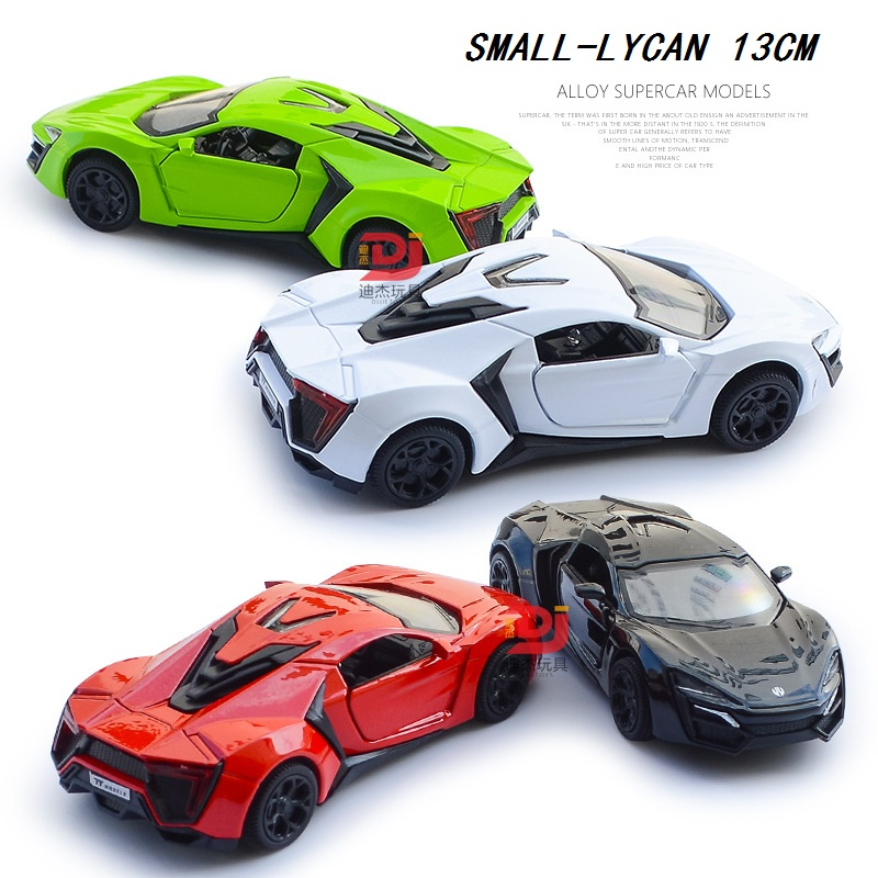 1:36 Alloy Car (TY) 13Cm Small Diecast Toys Vehicles Pull back Car W ...