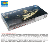 Trumpeter Chinese Navy Aircraft 1:700 Carrier Liao Ning Airplane Plane Assemble Model Toy For Collection Christmas Present